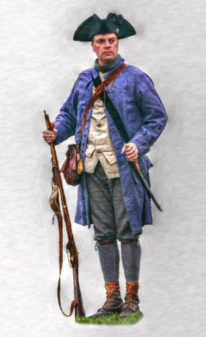 Colonial Militia Men - Clothings From The Revolutionary War